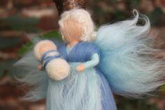 Wiegenfee mit Baby, Schutzengel, Fee, von Jalda auf DaWanda.com