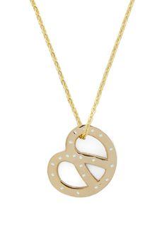 How to Celebrate National Pretzel Day #PretzelDayTip: Don your favorite pretzel jewelry - like this Worth Your Salt Necklace at ModCloth!