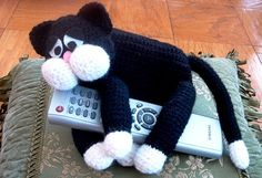 Free Remote Control Holder Crochet Pattern