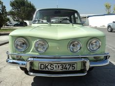 1974 Renault 8TS. what a front