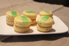 Surprises et gourmandises - Macarons à la vanille et à l'huile d'olive