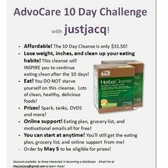 Foto: New blog post with an #advocare cleanse challenge and prizes! Link in profile. justjacq.com