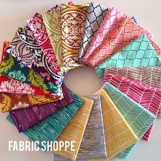 SALE ENTIRE LINE True Colors Fabric Bundle by Joel Dewberry -Fat Quarter bundle, 20 total