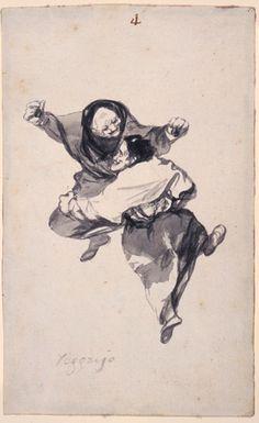 Francisco Goya, Joy, 1816-20