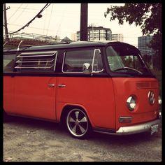 groovy vw van