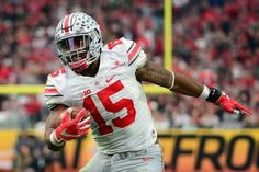 Cowboys select Ohio State RB Ezekiel Elliott in first round.: Cowboys select Ohio State RB Ezekiel Elliott in first… Ohio State Football, Ohio State Buckeyes, Nfl Football, Football Helmets, Ezekiel Elliott Ohio State, Hd Wallpaper Iphone, Wallpapers, First Round, One Back