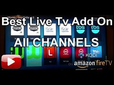 Best Live TV KODI ADD ON Amazon FireStick 2017 - YouTube