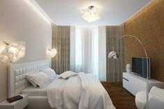 Apartament de 60 mp cu 2 camere în nuanțe de bej-maro - Edifica Design Case, House Design, Curtains, Interior Design, Modern, Furniture, Home Decor, Bedrooms, Flat