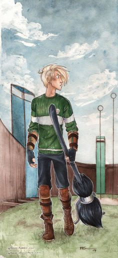 Quidditch by CaptBexx.deviantart.com on @DeviantArt