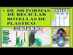Ideas Para Reutilizar Plasticos, Cajas, tapones, Tarjetas, cintas, y Mas, Reciclar - YouTube