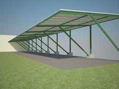 Cocheras Metálicas Garage Design, Roof Design, Gazebo Roof, Pergola, Carport Garage, Roof Detail, Roof Structure, Canopy Design, Parking Design