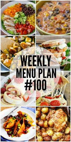 Weekly Menu Plan #100!