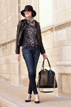 Lots of Leopard by What I Wore