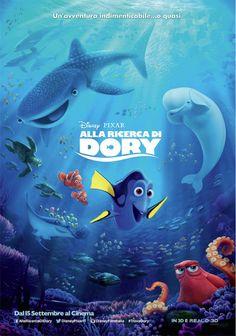 Alla Ricerca di Dory: La piccola Dory e il polpo Hank sono i protagonisti di due clip