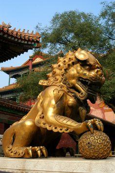 China Temple Lion