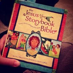 Jesse Tree Advent with Jesus Storybook Bible: easier follow along for the kids. We'll try next year!