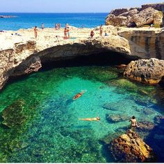 4 Ways to Feel Like You Got a Vacation – Without Ever Leaving Town – 10 Natural Swimming Holes to Add to Your Bucket List - Camille Styles Italy Vacation, Italy Travel, Vacation Destinations, Italy Map, Italy Italy, Italy Landscape, Italy Holidays, Italy Tours, Southern Italy