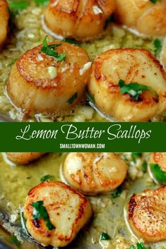 Seared Garlic Lemon Butter Scallops Seafood Scallops Lemon Butter Recipes Lemon Butter Seafood Recipes Mother s Day Brunch Dinner Party Recipe Seafood Recipes Small Town Woman scallopsfordinner seafoodlove butteredscallops # Best Seafood Recipes, Healthiest Seafood, Shellfish Recipes, Vegetarian Recipes, Cooking Recipes, Healthy Recipes, Lemon Recipes, Steak Recipes, Seafood Scallops