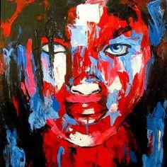 Françoise nielly inspired painting  #art #artist #artwork #abstract #painting #portrait #art_empire #art_help #art_spotlight #acrylic #acrylicpainting #francoiseniellyart #francoisenielly #francoiseniellyinspired #paletteknifepainting #paletteknife #paletteknifeart #egyptart #egyptartist
