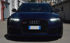 Audi RS6 Facelift & Special Grill Mesh