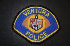 Ventura Police Patch, Ventura County, California (Vintage 1996 Issue)