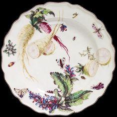 Chelsea Porcelain factory, about 1755, soft-paste porcelain, painted in enamels. Museum no. C.46-1944, © Victoria and Albert Museum, London