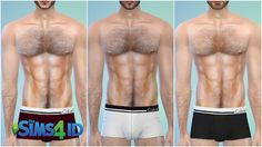 Sims 4 CC's - The Best: Calvin Klein Underwear for Males by David Veiga