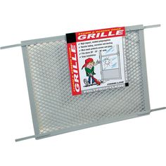 Free 2-day shipping on qualified orders over $35. Buy Screen Door Grill for 30 in. Door, Gray Poly at Walmart.com Screen Door Grill, Sliding Patio Screen Door, Screen Door Handles, Pet Screen Door, Window Screens, Screen Door Protector, Screened Porch Decorating, Diy Grill, Glass Fit