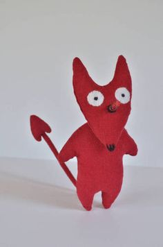 Little Devil - TOYS, DOLLS AND PLAYTHINGS  - All Holiday crafts, Knitting, Art, sewing, crochet, tutorials, children crafts, jewelry, needlework, swaps, papercrafts, Polymer clay, cooking, Quilting, Video How-To's, and so much more on Craftster.org