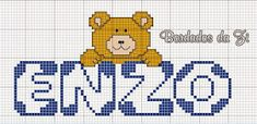 Jana Artes Manuais: Nomes prontos Afghan Crochet Patterns, Cross Stitch Patterns, Hama Beads, Pixel Art, Mickey Mouse, Projects To Try, Fictional Characters, Galleries, Cross Stitch Font