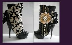 I really need to make me some of these... and get a pair of boots to put them on...