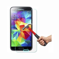 FEYE high quality premium branded tempered glass is made to cover and protect your mobile screen Samsung Galaxy S5 mini from damage and scratches with specially processed transparent glass that has been reinforced for scratch resistance. The 0.33mm thickness makes compatible with all types of cases while still maintaining a surface hardness of 9H.