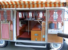 VW Camper- Now that's what I call camping...you have to love kitsch dubs like this