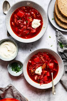 Borscht is know with many different names according to the region in … Best Borscht Soup Recipe, Classic Borscht Recipe, Brunch Recipes, Snack Recipes, Healthy Recipes, Savoury Recipes, Macaroni Recipes, Soup Recipes, Georgian Cuisine