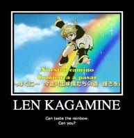 deviantART: More Like Len motivational poster by ~Crazy-Cartoon