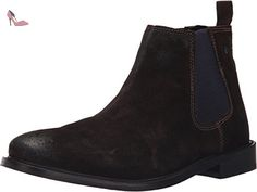 Base London Ferdinand, Bottines Chelsea Homme, Marron (Brown Washed), 44 EU