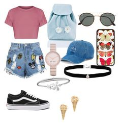 """""""Untitled #25"""" by anguiejuliana on Polyvore featuring Disney Stars Studios, Vans, Sugarbaby, Ray-Ban, SO, Nine West, Amanda Rose Collection, Tommy Hilfiger and Marc Jacobs"""