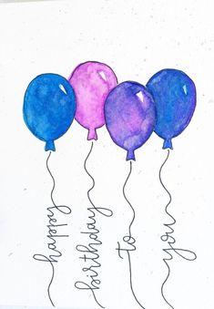 Best Birthday Quotes : Happy Birthday to you Birthdays birthdays quotes Happy Birthday To You, Happy Birthday Wishes Cards, Happy Birthday Funny, Happy Birthday Images, Birthday Pictures, Handmade Birthday Cards, Birthday Ideas, Card Birthday, Happy Birthday Painting