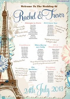 Hey, I found this really awesome Etsy listing at https://www.etsy.com/listing/212177910/paris-themed-wedding-table-plan