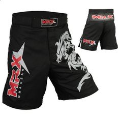 """Mrx MMA Fight Shorts Stretch Penals Black with Dragon (Black, Medium (30.5""""- 31.5"""")) by MRX. $24.99. MMA Shorts / Grappling Shorts Made of 100% Micro Fabric stretch Panels constructed shorts feature a large Dragon Snake printed on the left leg and MRX Logo on the right leg. Split out seams allow more kicking freedom while the black-trimmed waistband with Woven MRX logo on the front, has hook/loop closure plus an internal drawstring to reduce shifting.Multiple Flex Pane..."""