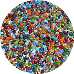 96COE Made from System 96 Glass New Years Eve Mix Frit Balls New Larger 1oz Size