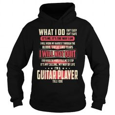 Guitar Player - Hot Trend T-shirts