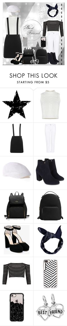 """Best Friends Slay Together"" by nadilaamaaliaa ❤ liked on Polyvore featuring Tim Holtz, Dorothy Perkins, Citizens of Humanity, Monsoon, MANGO, Jimmy Choo, Boohoo and Casetify"