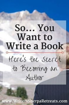 The Secret to Becoming an Author -- writing tips, write a book, writing inspiration, become an author Creative Writing Tips, Book Writing Tips, Writing Quotes, Writing Help, Writing Skills, Writing Prompts, Writing Humor, Vie Motivation, Business Motivation