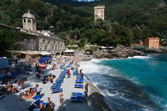 San Fruttuoso Abbey (Italy) by Aaron K Hall, via Flickr