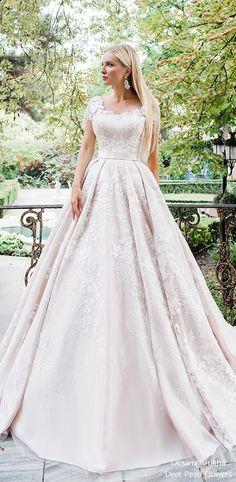 Oksana Mukha 2018 Wedding Dresses / http://www.deerpearlflowers.com/oksana-mukha-wedding-dresses-2018-2/