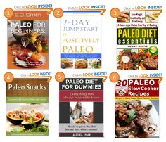 FREE eBooks 01/01/14! Grab them while they are still free! 1) Paleo For Beginners: What Is The Paleo Diet? 2) 7-Day Jump Start to Positively Paleo 3) Paleo Diet Essentials 4) Paleo Snack Recipes - Convenient Recipes For Delectable Cuisine  5) Paleo Diet for Dummies 6) 30 Paleo Slow Cooker Recipes