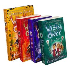 Wizards of Once Series 4 Books Collection Set By Cressida Cowell