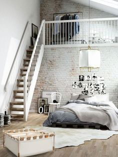 Bedroom Style New York Loft Bedroom.Charming Industrial Loft In New Taipei City IDesignArch . Dramatic Views And A Snazzy Interior Shape Loft Style . Loft Style Apartment Design In New York IDesignArch . Home and Family