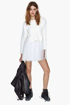 UNIF Chloe Sweater Dress | Shop Dresses at Nasty Gal